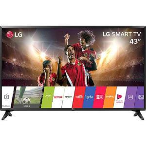 Oferta ➤ Smart TV LED 43 LG 43lj5500 Full HD com Conversor Digital Wi-Fi integrado 1 USB 2 HDMI  Com Webos 3.5 Sistema de Som Virtual Surround Plus   . Veja essa promoção
