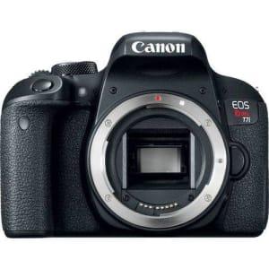 Câmera Canon DSLR EOS Rebel T7i - Corpo