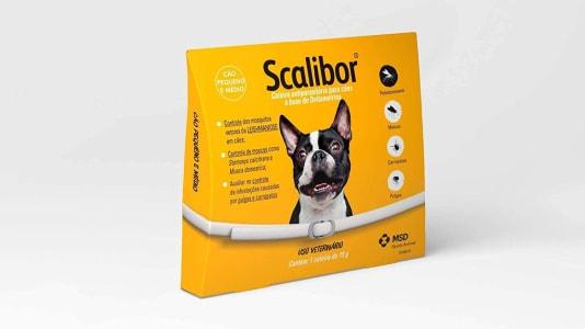 Scalibor Coleira Antiparasitária 48cm para Cães Scalibor para Cães, 48 cm