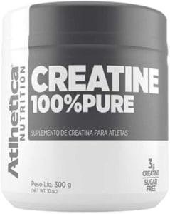 Creatina 100% Pure Pro Series Atlhetica Nutrition Natural - 300g