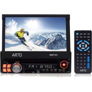 """DVD Player Automotivo AR70 MM720 Tela 7"""" - Entradas USB, SD, AUX e p/câmera de ré"""