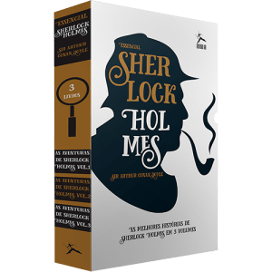 Livro - Box Sherlock Holmes: As Aventuras de  Sherlock Holmes (3 Volumes)