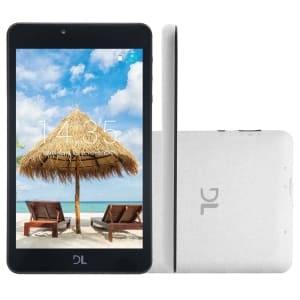 """Tablet DL C17 Hawar TX387 Branco com Tela de 7"""", 8GB, Câmera, Wi-Fi, Android 7.0 e Processador Quad Core"""