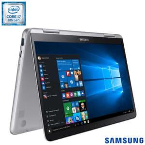 """Notebook Samsung, Processador Intel® Core™ i7, 8GB, 256GB SSD, Tela de 13,3"""", Style S51 Pen - NP930QAA-KW1BR - SGNP930QAAKW1_PRD"""