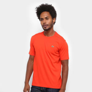 Camiseta Lacoste Gola Careca