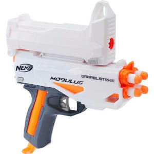 Lança Dardo Nerf Modulus Blaster - Barrelstrike C0614/C0615 - Hasbro