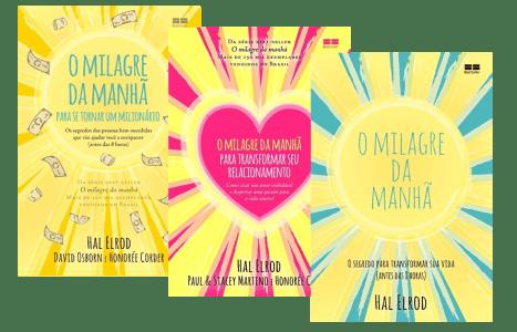 Kit O Milagre Da Manhã - 3 Volumes