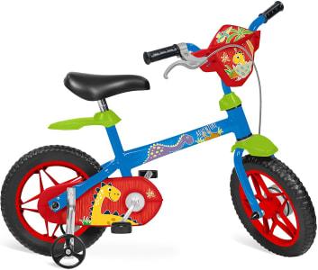 """Bicicleta 12"""" Adventure Bandeirante Azul"""
