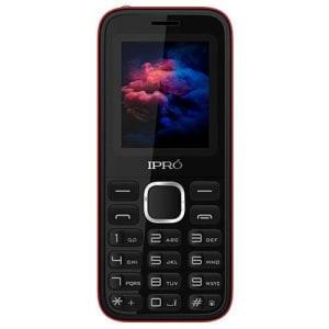"""Celular iPro A8 Mini Dual SIM 32MB Tela de 1.8"""" Câmera VGA - Preto/Vermelho"""