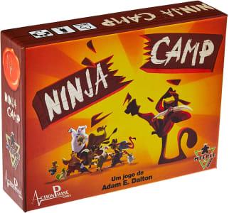 Jogo de Tabuleiro Ninja Camp - Meeple BR