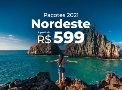 Pacotes Nordeste 2021 a partir de R$599,00 - Diversos Destinos Incríveis!!