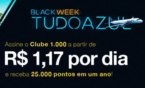 Clube TudoAzul 1.000 dando Mais que o DOBRO de Pontos!