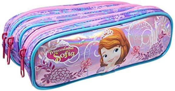 Estojo Soft, Dermiwil, Disney Princesa Sofia, 52167