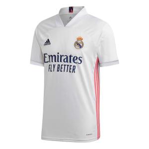 Camisa Real Madrid Home 20/21 s/n° Torcedor Adidas - Masculina