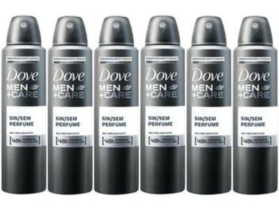 Desodorante Aerossol Antitranspirante Masculino - Men+Care Sem Perfume 150ml Cada 6 Unidades - Magazine Ofertaesperta