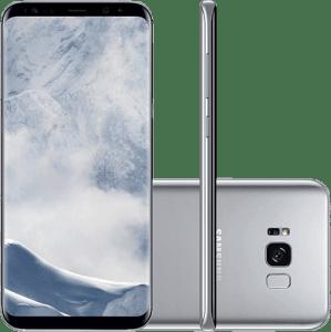 Oferta ➤ Smartphone Samsung Galaxy S8 Dual Chip Android 7.0 Tela 5.8 Octa-Core 2.3GHz 64GB 4G Câmera 12MP – Prata   . Veja essa promoção