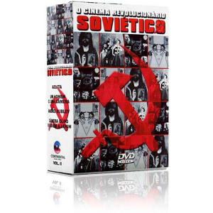 Coleção Cinema Revolucionário Soviético Vol. 2 (4 DVDs)