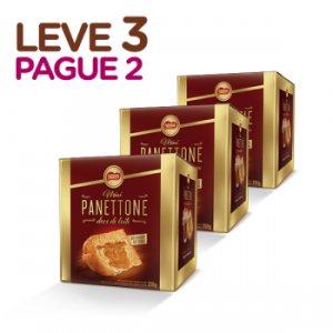 MINI PANETTONE DOCE DE LEITE NESTLÉ (LEVE 3, PAGUE 2)