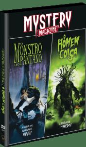 Mystery Magazine - o Monstro do Pântano - o Homem-Coisa - DVD - 2 Discos