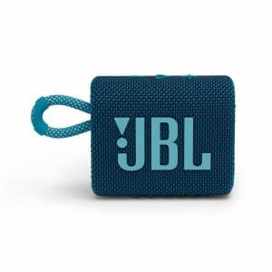 Caixa de Som JBL GO3, Bluetooth, À Prova d'Agua e Poeira, 4,2W RMS, Azul - JBLGO3BLU