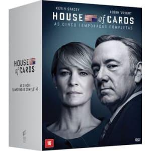 House Of Cards - Temporadas 1-5 (Coleção) (20 DVDs)