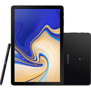 "Tablet Samsung Galaxy Tab S4 T835 64GB 4GB RAM Tela Super AMOLED de 10.5"""