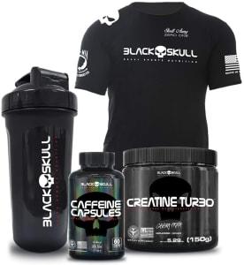 Combo Creatina + Cafeína + Coquet + Camiseta G
