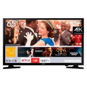 Smart Tv 4K Led Ultra Hd 65 Polegadas Samsung Preta Lh65Benelga/Zd