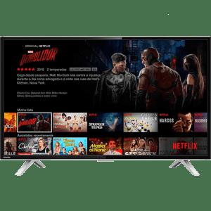 Smart TV LED 40'' Semp Toshiba TCL 40L2600 Full HD com Conversor Digital 3 HDMI 2 USB Wi-Fi 60Hz - Preta (Cód. 131471591)