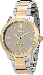 Relógio Euro Pulseira de Aço Inoxidável - Feminino Dourado EUVD78A4AB/5K