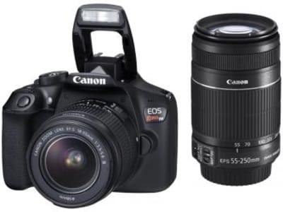 "Câmera Digital Canon EOS Rebel T6 Premium Kit - 18MP Profissional 3"" Full HD Wi-Fi - Magazine Ofertaesperta"