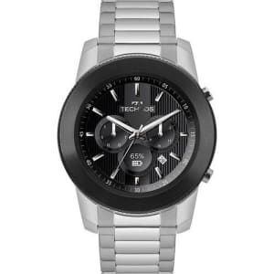 Smartwatch Technos Connect Masculino Prata Analógico M1AC/5P