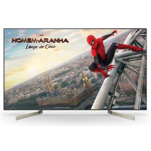 "Smart TV 4K Sony LED 75"" X-Motion Clarity 4K X-Reality Pro UpScalling Wi-Fi - XBR-75X905F"