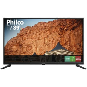 TV LED 39 Philco PTV39F61D HD com Conversor Digital Integrado 2 HDMI 2 USB Recepção Digital