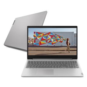 Notebook Lenovo Ultrafino ideapad S145 i5-8265U 8GB 2TB 15.6' HD Linux 81S9S00300 Prata