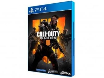 Call of Duty Black Ops 4 para PS4 - Activision - Magazine Ofertaesperta