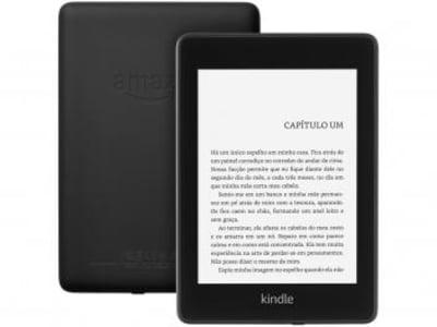 "Kindle Paperwhite Amazon Tela 6"" 8GB Wi-Fi - Luz Embutida e à Prova dÁgua Preto - Magazine Ofertaesperta"