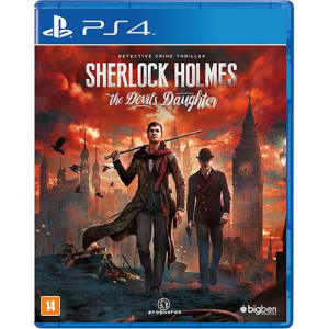 Game - Sherlock Holmes: The Devil's Daughter - PS4