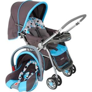 Oferta ➤ Carrinho de Bebê Cosco Travel System Reverse CD200TS – Azul   . Veja essa promoção
