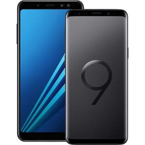 84a5a958a Smartphone Samsung Galaxy S9 - Preto + Smartphone Samsung Galaxy A8 - Preto
