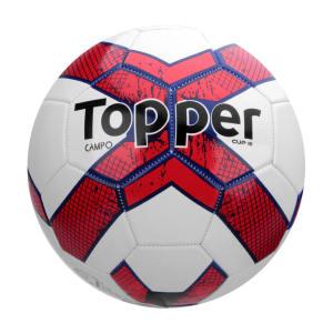 Bola Futebol Campo Topper Cup III - Branco e Vermelho