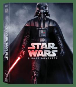 Blu-Ray - Star Wars - A Saga Completa - 9 Discos