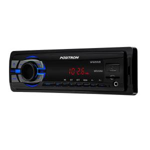 MP3 Player Automotivo Positron SP2210 UB 1 Din USB Micro SD AUX MP3 WMA FM RCA 4x6 WRMS
