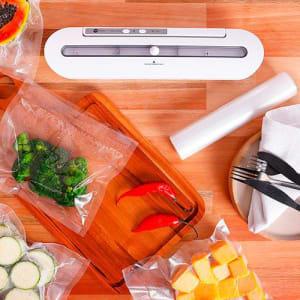 Kit - Seladora a Vácuo 110v + 1 Refil Seladora - Fun Kitchen