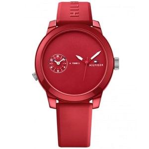 Relógio Tommy Hilfiger Masculino Borracha Vermelha - 1791323