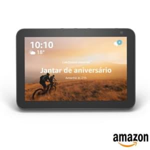 Smart Speaker Amazon com Alexa Preto - ECHO SHOW 8
