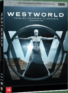 DVD Westworld – 1ª Temporada - 3 Discos