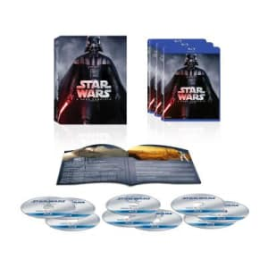 Star Wars - A Saga Completa - Nova Embalagem (Blu-Ray) (9 Discos)