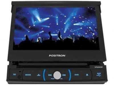 "DVD Automotivo Positron SP6330BT LCD 7"" - Retrátil Touch Bluetooth 4X20 Watts RMS"