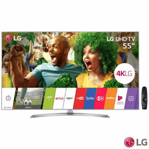 "Smart TV 4K LG LED 55"" Nano Cell™ Display, webOS 3.5, Harman/kardon, Controle Smart Magic - 55UJ7500"